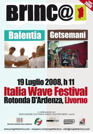 BRINC@ - ITALIA WAVE - BALENTIA + GETSEMANI