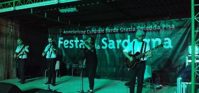 Live Report! Claudia Aru alla Festa della Sardegna di Pisa