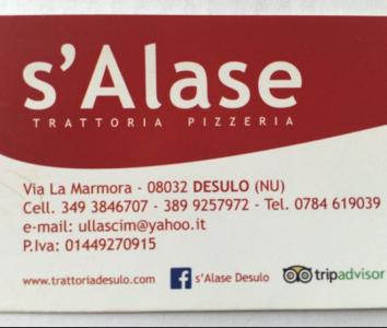 Trattoria Pizzeria S'Alase