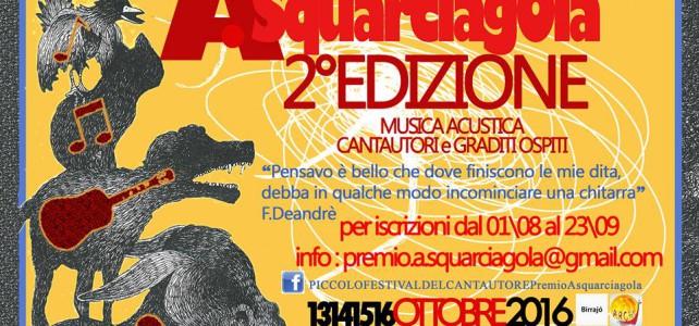 Piccolo Festival del Cantautore & PremioASquarciagola2016