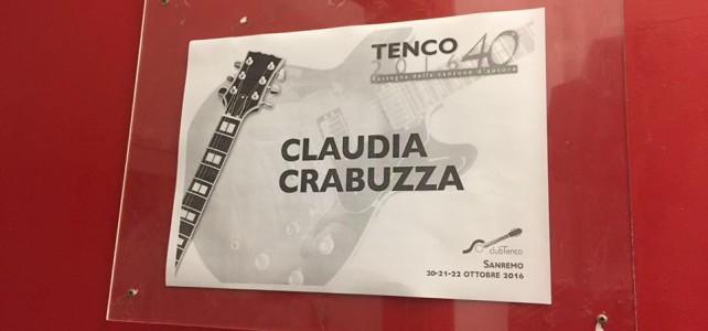"""Claudia Crabuzza: Targa Tenco per l'album """"Com un Soldat"""" e menzione al Premio Parodi per """"L'altra Frida"""""""