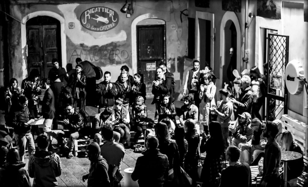 ph_pubblico piazza santa caterina (foto Barbara Oggiano)