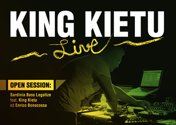 King Kietu in due spettacoli dal vivo in nord Sardegna