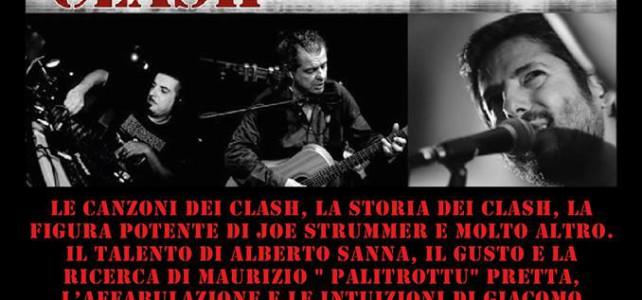Londra Brucia! Lo spettacolo sui Clash di Alberto Sanna, Giacomo Casti e Maurizio Pretta il 5 gennaio a Tonara