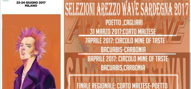 Parte Arezzo Wave Sardegna: in gara anche Dromo Tet e Andrea Congia con gli Skull Cowboys