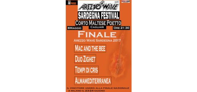 Il 6 maggio la finale di Arezzo Wave Sardegna