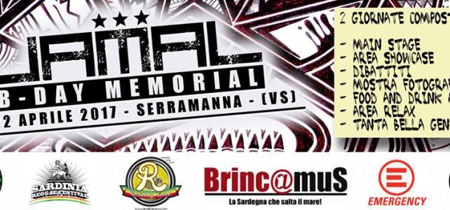 Jamal B-Day Memorial: la terza edizione il 21 e 22 aprile 2017