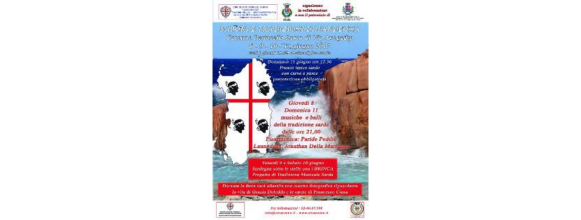 Sapori e tradizioni di Sardegna: i Brinca alla festa del Circolo di Saronno