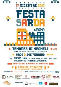 Fresta Sarda a Roma - Locandina
